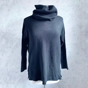 French Connection Cleo Black Turtleneck Sweater XS